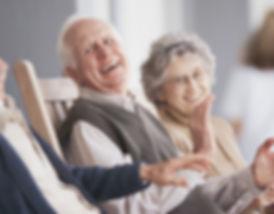 Seniors Laughing