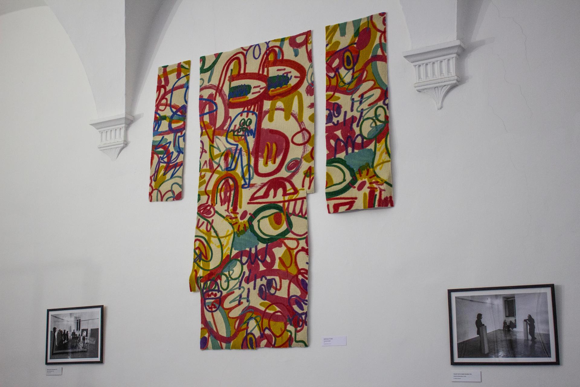 Guglielmo Maggini, Bedroom leftovers, 2019, poliestere stampato, 170 x 185 cm