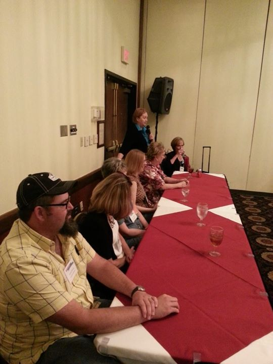 The author panel