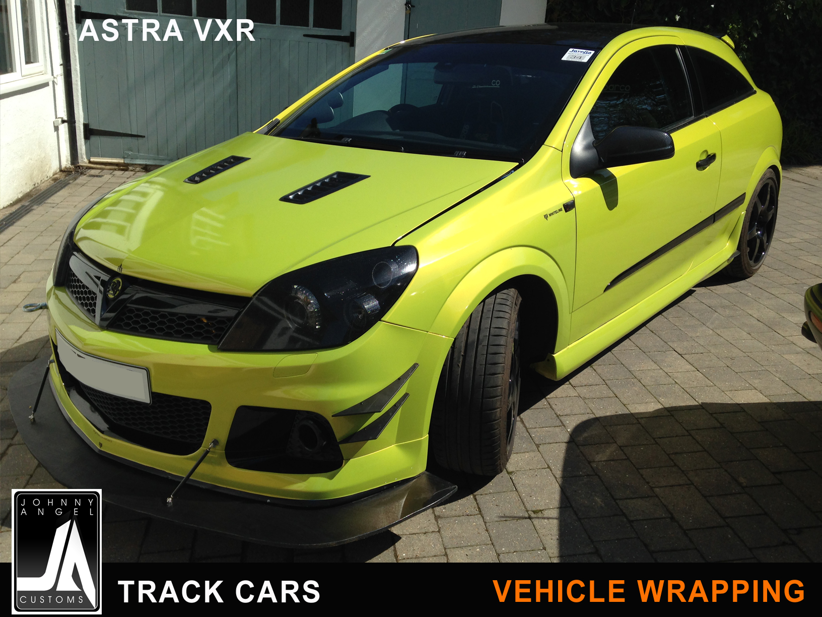 Johnny Angel Customs Track Cars Vehicle Wrapping Astra VXR p2