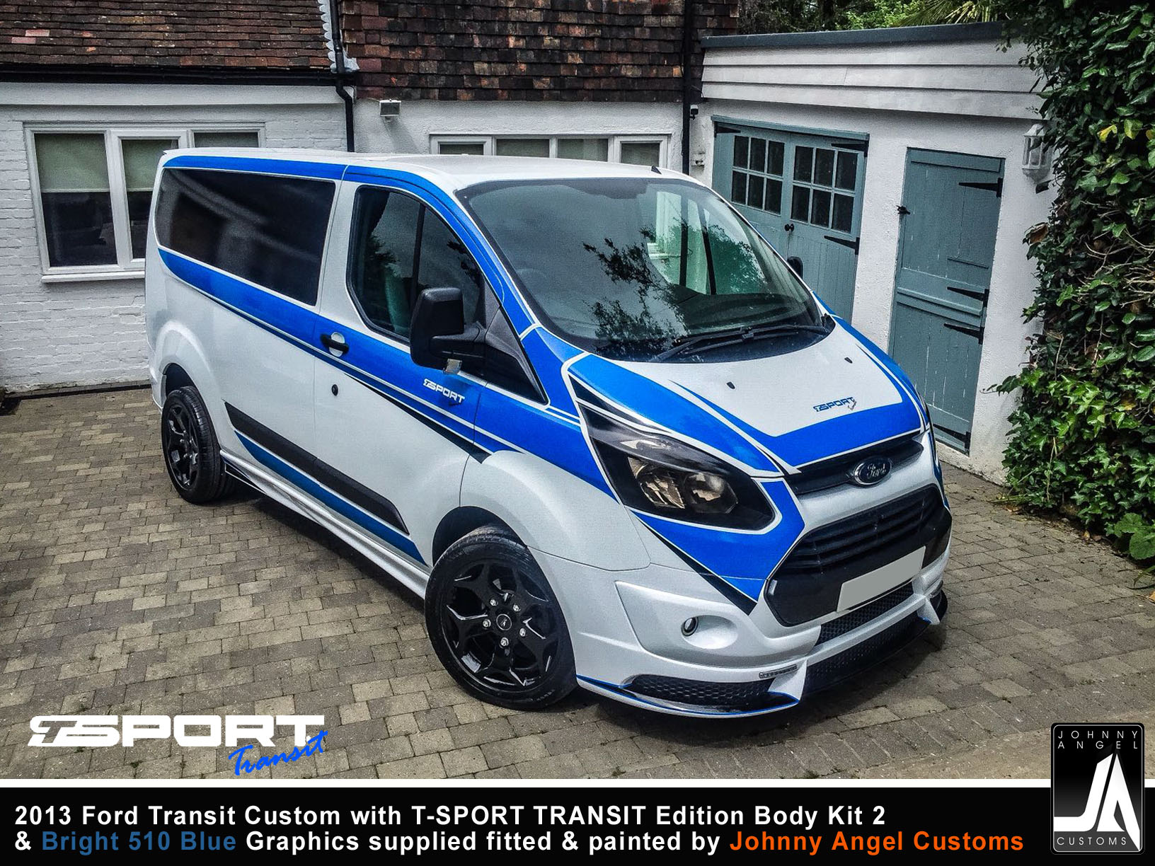 2013 Ford Transit Custom with T-SPORT TRANSIT Edition Body Kit 2 By Johnny Angel Customs pic14