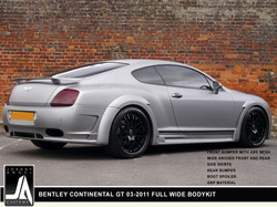 BENTLEY CONTINENTAL GT 03-2011 FULL WIDE BODYKIT  By Johnny Angel Customs pic 3