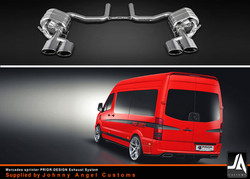 mercedes_sprinter_PRIOR-DESIGN Exhaust System_Supplied by Johnny Angel Customs