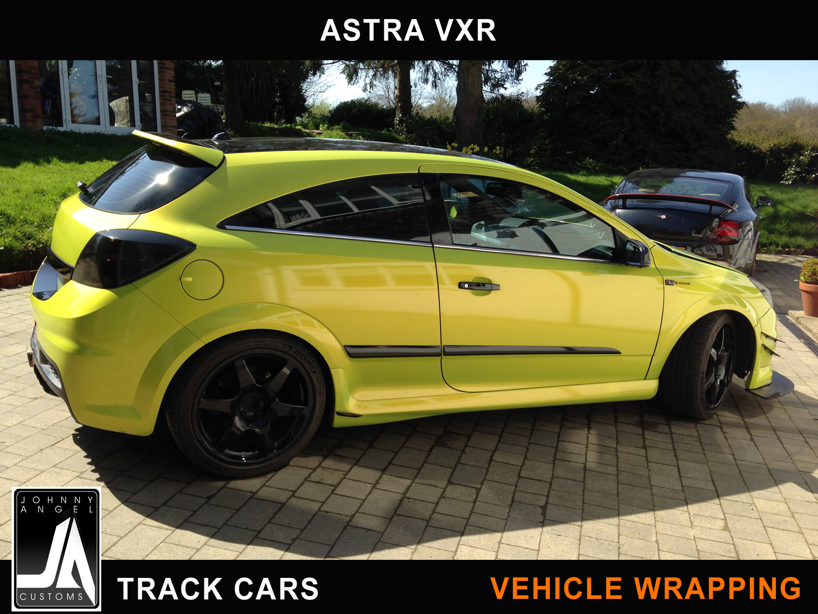Johnny Angel Customs Track Cars Vehicle Wrapping Astra VXR p1