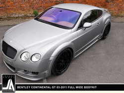 BENTLEY CONTINENTAL GT 03-2011 FULL WIDE BODYKIT  By Johnny Angel Customs pic 5