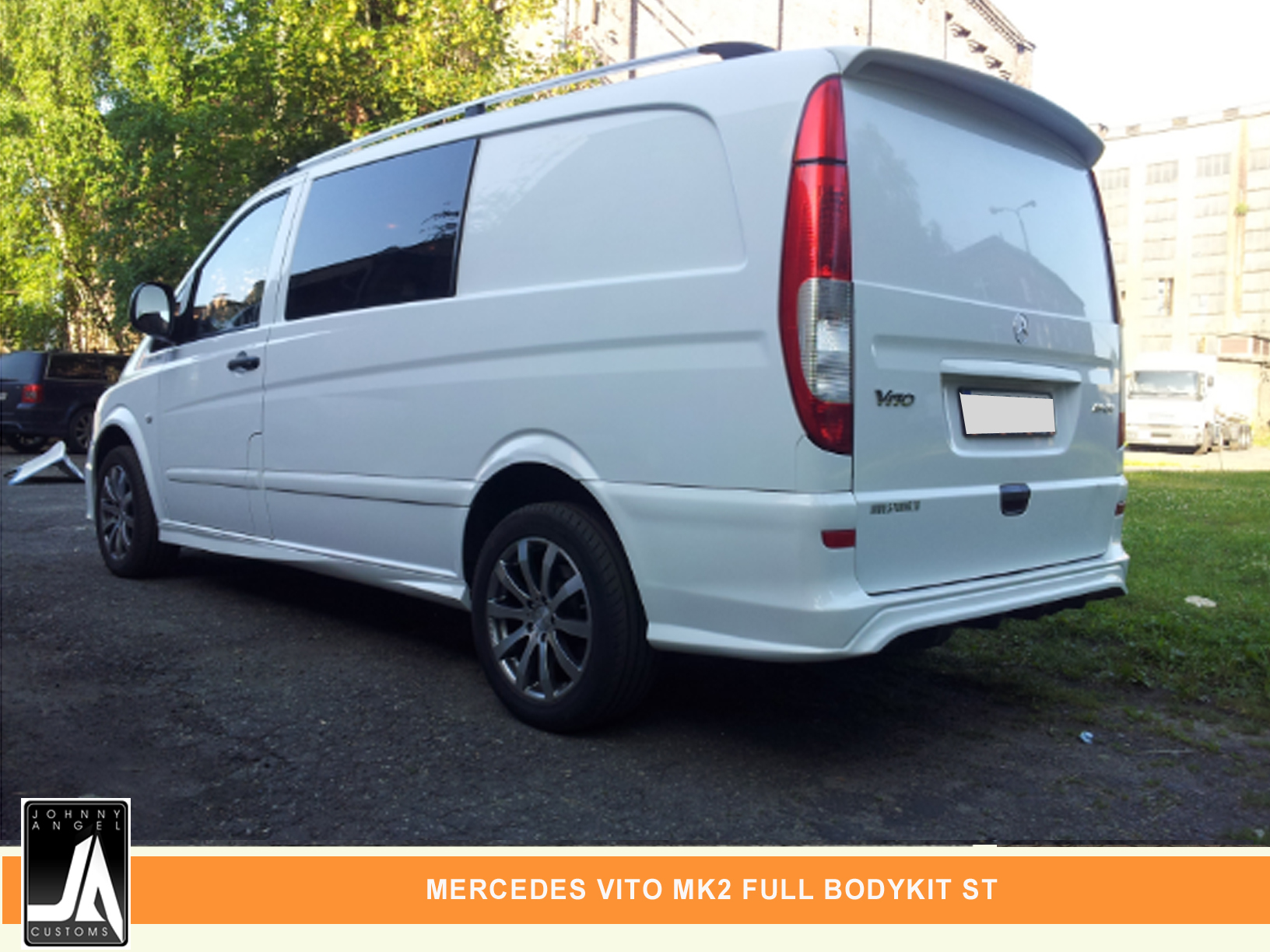 MERCEDES VITO MK2 FULL BODYKIT ST  By Johnny Angel Customs PIC 2