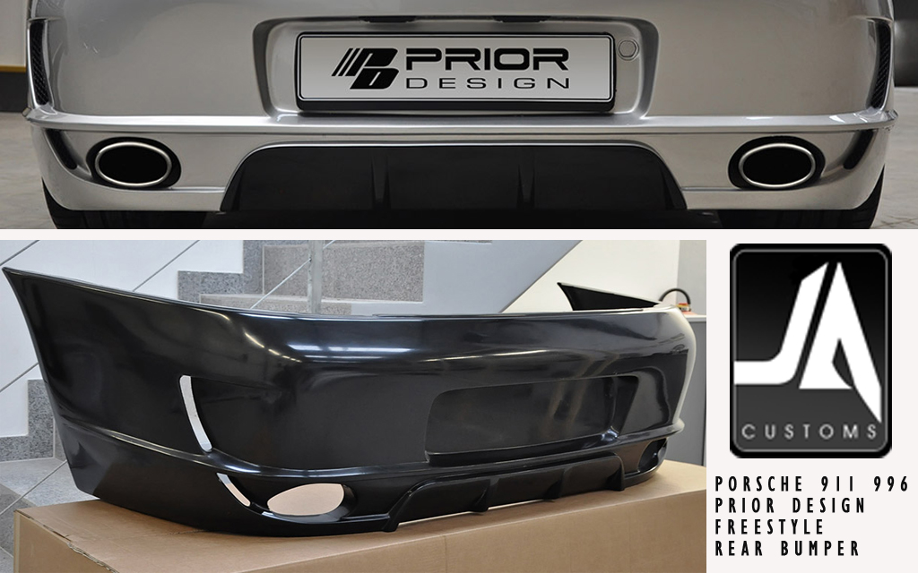 PORSCHE 911 996 REAR BUMPER RAW