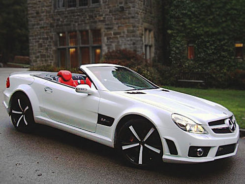 Mercedes SL R230 to 63AMG Replica Wide Body Kit