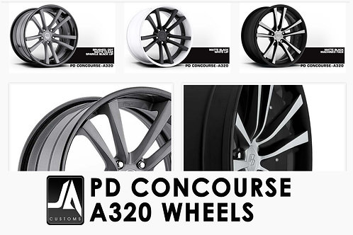 "PRIOR-DESIGN Wheels PD Concourse 18"" A320 Set of4"