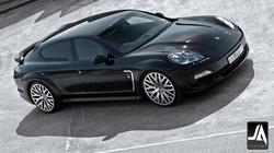 KAHN Porsche Panamera Supersport wide track pic 4