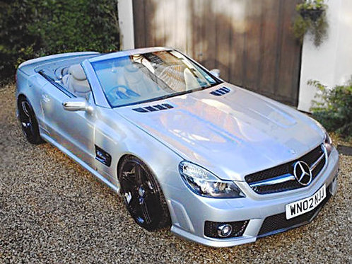 Mercedes SL R230 facelift to 63 AMG replicaBodyKit