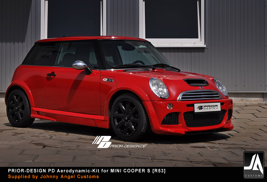 PRIOR-DESIGN PD Aerodynamic-Kit for MINI COOPER S [R53] pic 1 copy