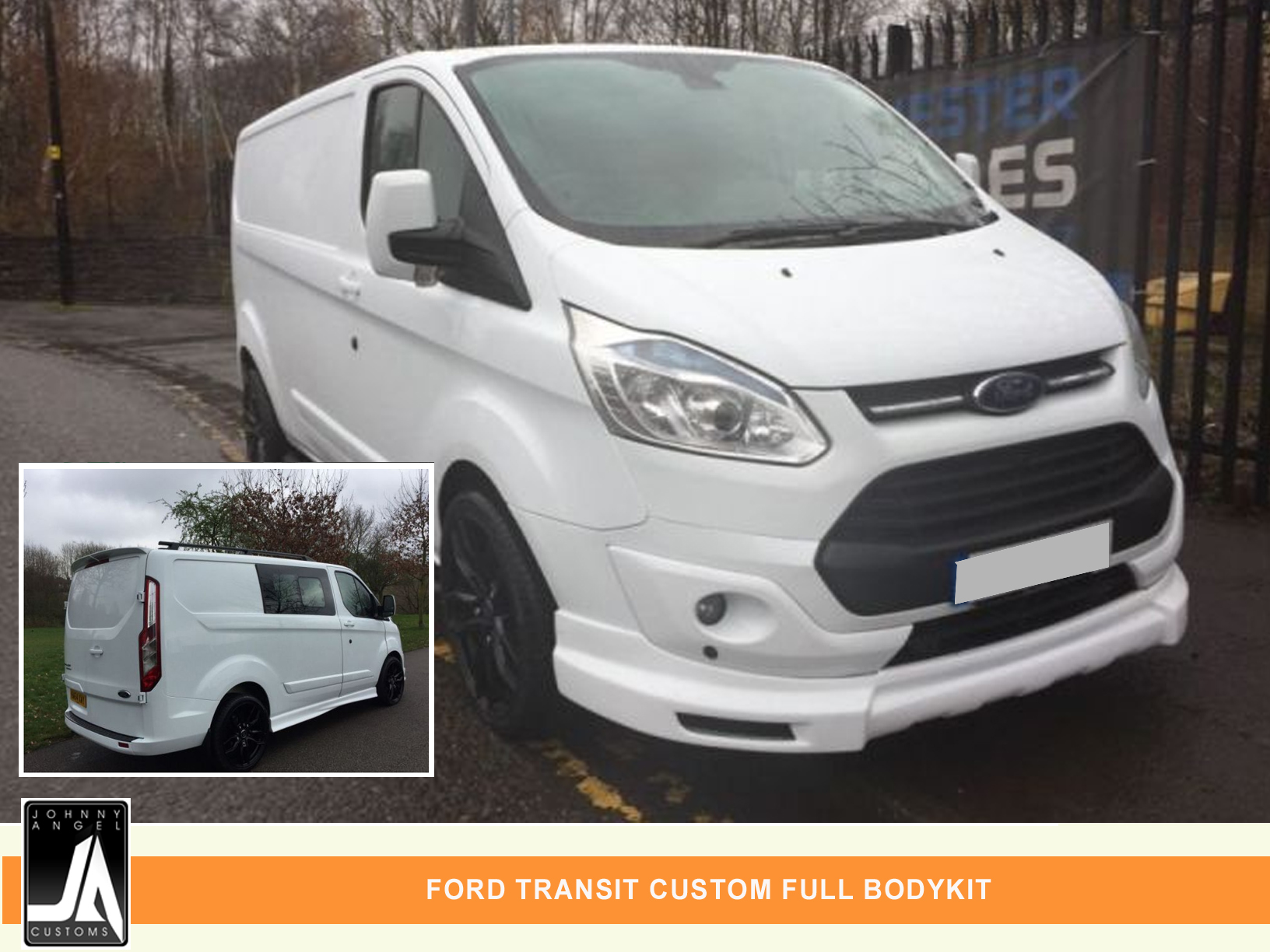 FORD TRANSIT CUSTOM FULL BODYKIT  By Johnny Angel Customs PIC 1