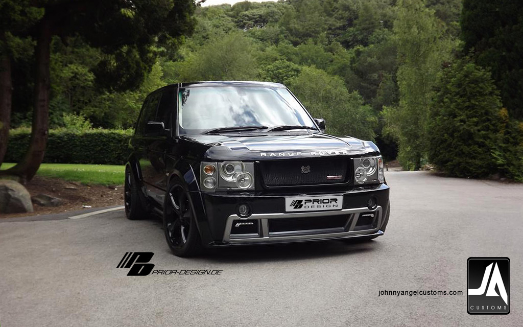 PD Widebody Aerodynamic-Kit for RANGE ROVER [2002-2005] pic 5 copy