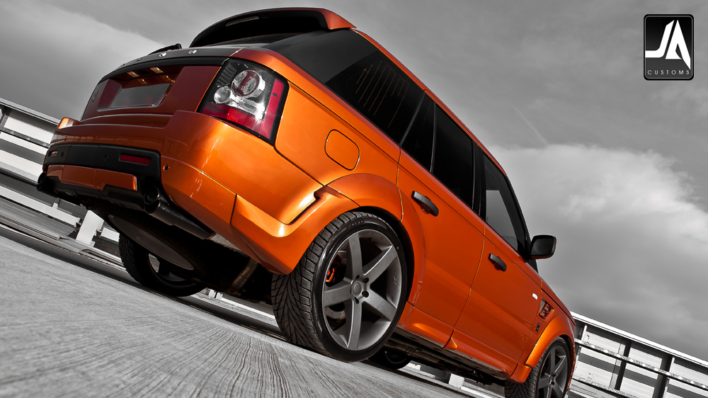 KAHN Autobiography Wide Wheel Arch Body Kit Range Rover Sport pic 6