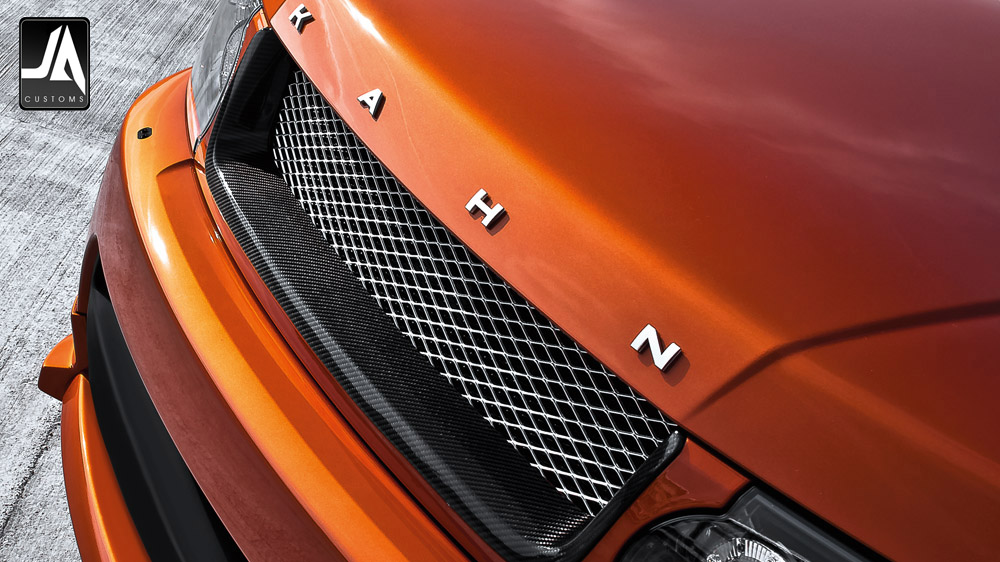 RS Front Grille with 3D Mesh Accessory by Kahn Design pic 4
