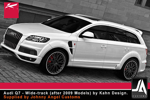 Audi Q7 - Wide-track (after 2009) KAHN Body kit