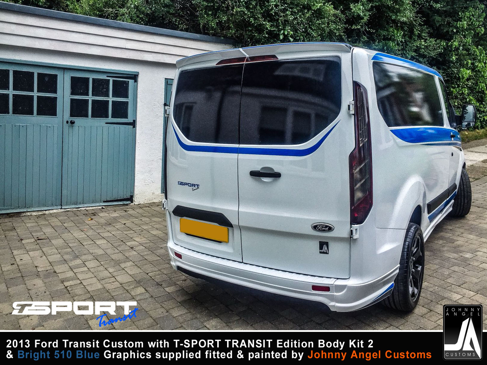 2013 Ford Transit Custom with T-SPORT TRANSIT Edition Body Kit 2 By Johnny Angel Customs pic16
