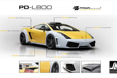 LAMBORGHINI Gallardo PD-L800 Widebody Kit