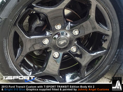 2013 Ford Transit Custom with T-SPORT TRANSIT Edition Body Kit 2 By Johnny Angel Customs pic15