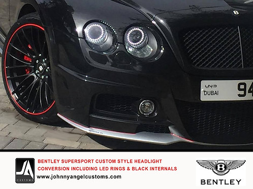 Bentley ContinentalGT Headlight Conversion to 2013