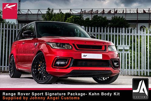 KAHN Range Rover Sport Signature Package Body Kit