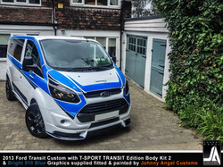 2013 Ford Transit Custom with T-SPORT TRANSIT Edition Body Kit 2 By Johnny Angel Customs pic18