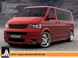 VW T5 - Bodykit MAGNUS SWB OR LWB  Johnny Angel Customs pic 1