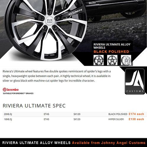 RIVIERA ULTIMATE Alloy Wheels  20X8.5J ET45  5X120
