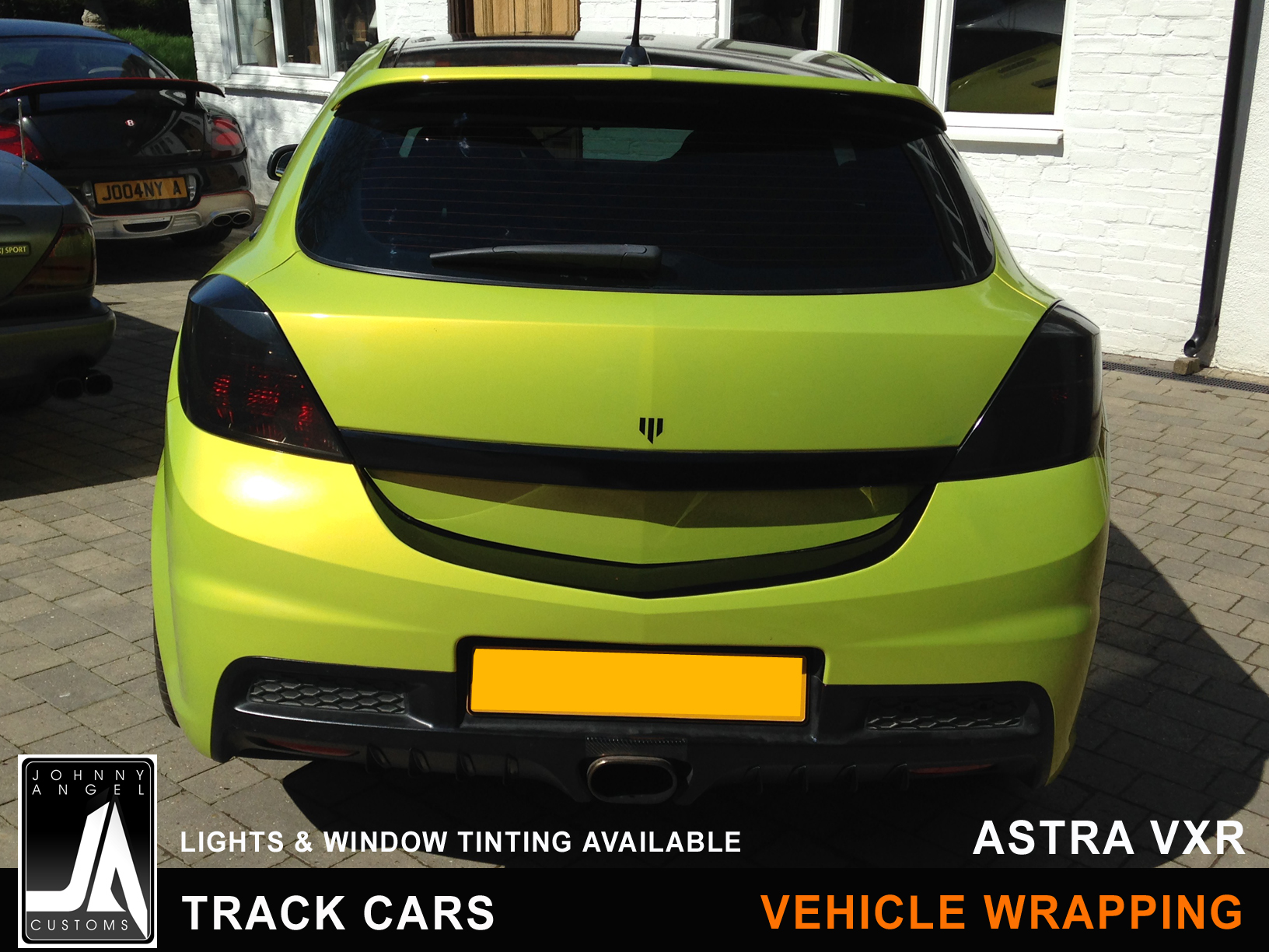 Johnny Angel Customs Track Cars Vehicle Wrapping Astra VXR p4