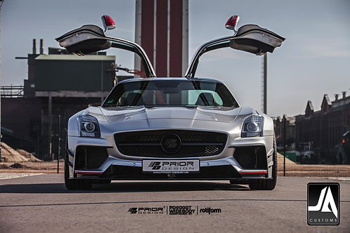 MERCEDES SLS PD900GT Widebody Aerodynamic-Kit