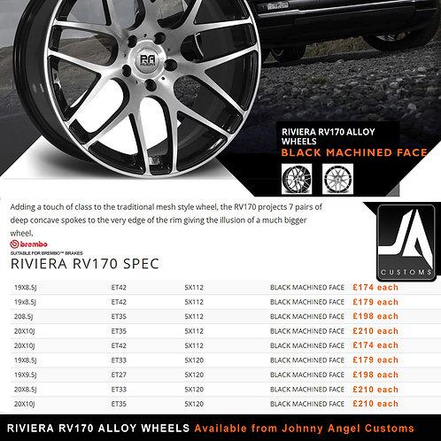 RIVIERA RV170 Alloy Wheels  20X10J  ET35  5X120