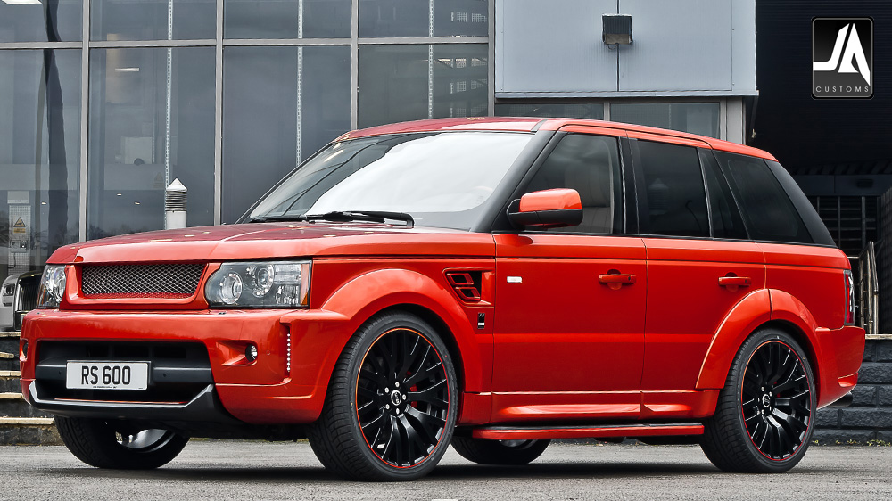 KAHN Autobiography Wide Wheel Arch Body Kit Range Rover Sport pic 8