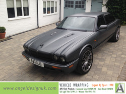 ANGEL DESIGN UK Vehicle Wrapping Jaguar XJ Sport 1998 Gunmetal Grey Pic 3