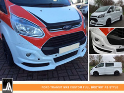 FORD TRANSIT MK8 CUSTOM FULL BODYKIT RS STYLE  By Johnny Angel Customs PIC 2