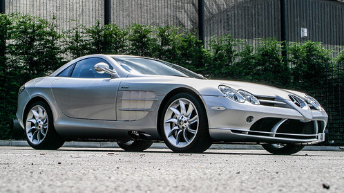 Mercedes Benz SLR McLaren Brand: Mercedes Benz SLR McLaren Price:  £265,000.00 Engine/Power: 5439 : 617 Year: 2008 Mileage: 16,000 Steering  Config.