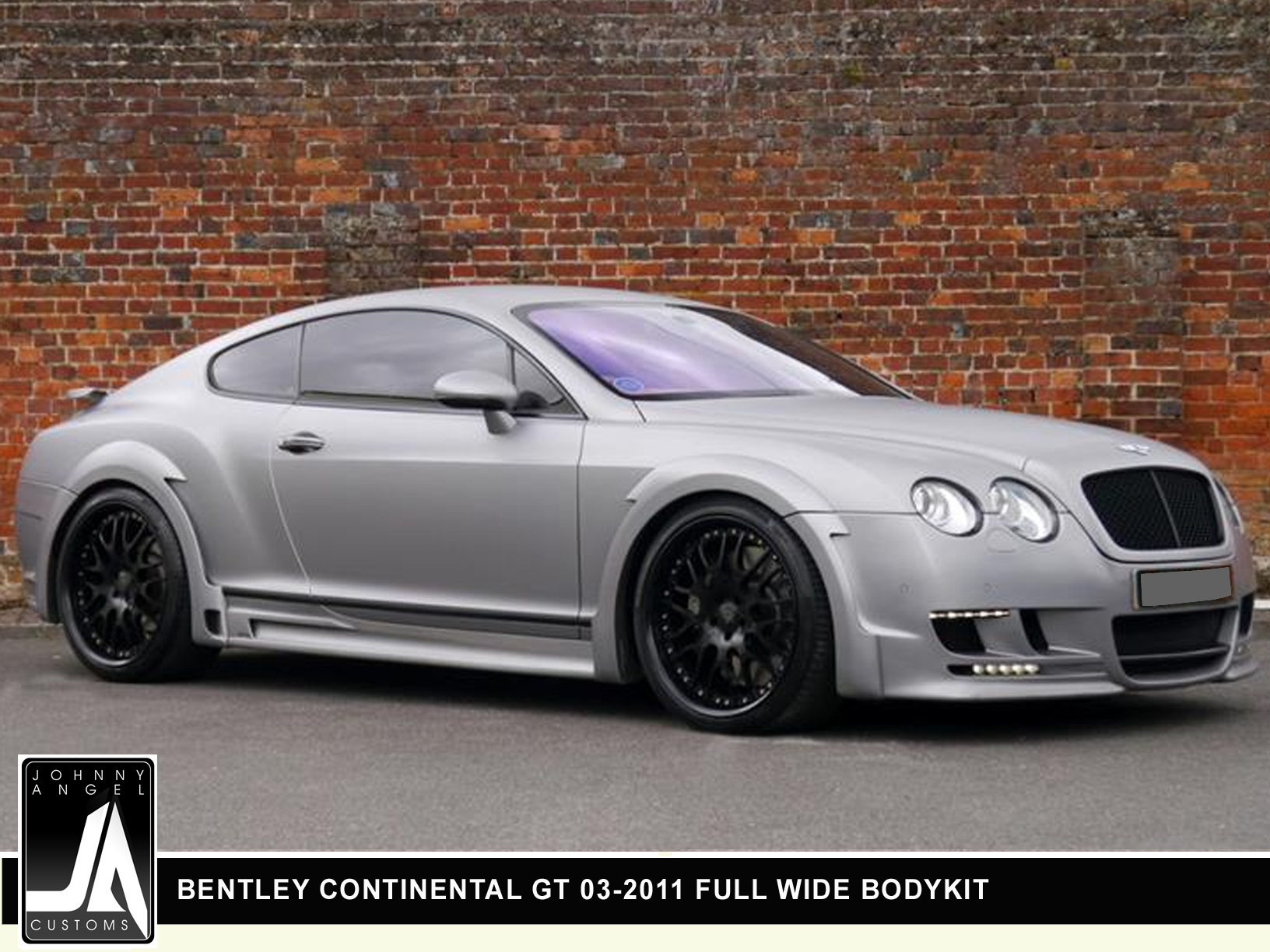 BENTLEY CONTINENTAL GT 03-2011 FULL WIDE BODYKIT  By Johnny Angel Customs pic 4