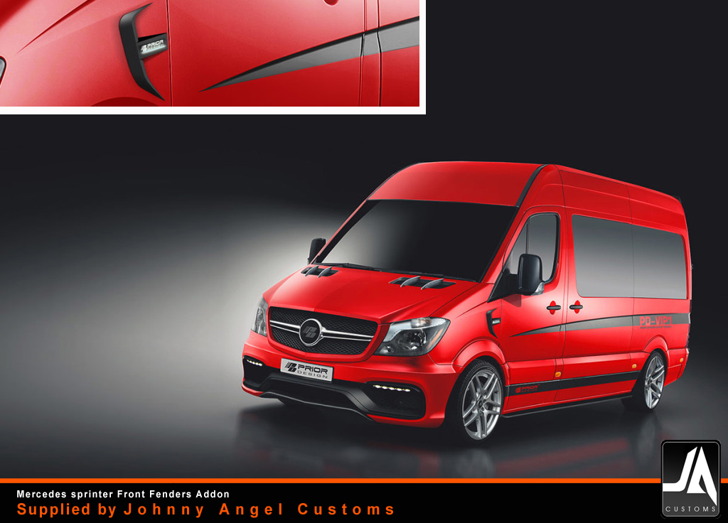 mercedes_sprinter_Front Fenders Addon_prior-design_PD-VIP1Supplied by Johnny Angel Customs