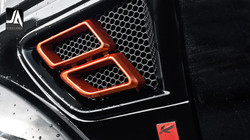 Exhaust Side Vents In Abs Accessory by Kahn Design pic 2