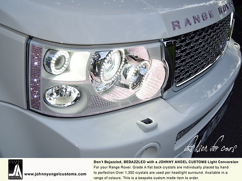 Range Rover Sport BEDAZZLED LED Headlight Conversion