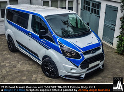 2013 Ford Transit Custom with T-SPORT TRANSIT Edition Body Kit 2 By Johnny Angel Customs pic19
