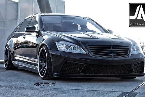 MERCEDES S-CLASS W221PD Black Edition V2 Widebody