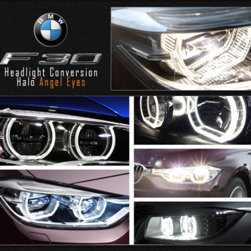 BMW F30 Halo Light Conversion