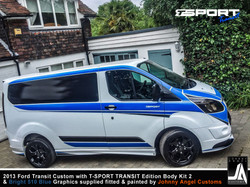 2013 Ford Transit Custom with T-SPORT TRANSIT Edition Body Kit 2 By Johnny Angel Customs pic17