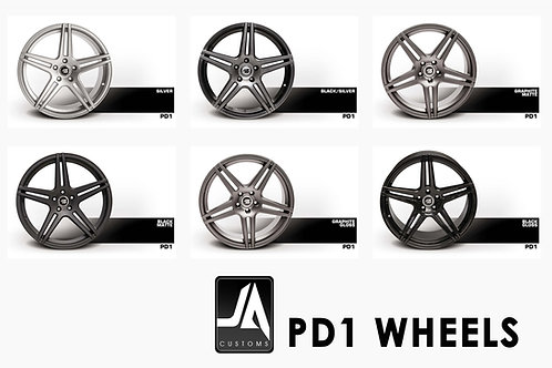 PRIOR-DESIGN Wheels PD1 SET of 4
