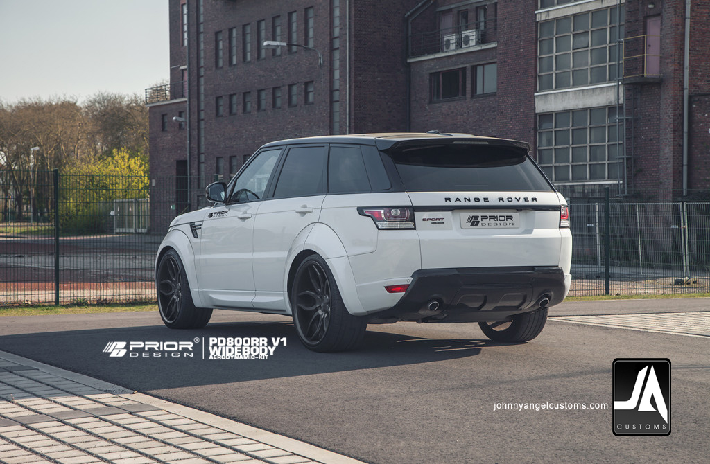 PD800RR V1 & V2 Widebody Aerodynamic-Kit for RANGE ROVER SPORT [2013+] pic 2 copy