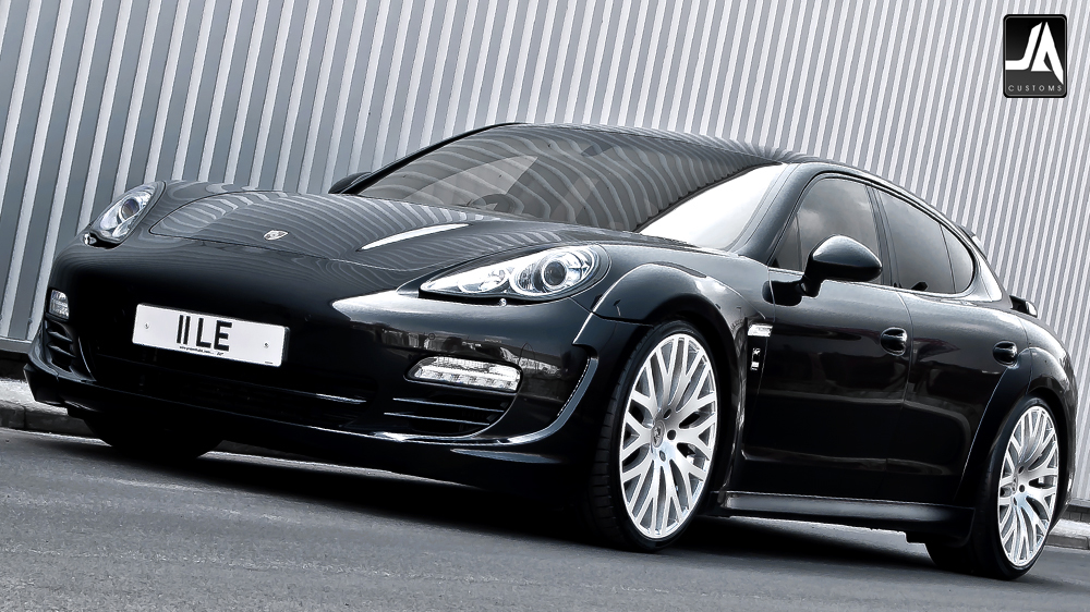 KAHN Porsche Panamera Supersport wide track pic 1