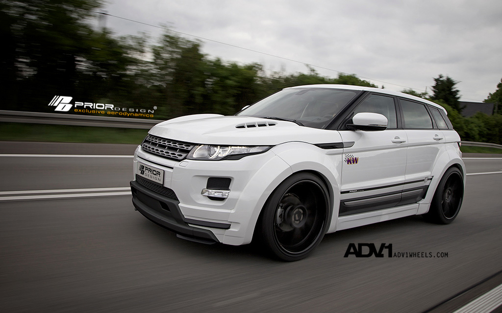 PD650 Widebody Aerodynamic-Kit for RANGE ROVER EVOQUE 5D pic 12