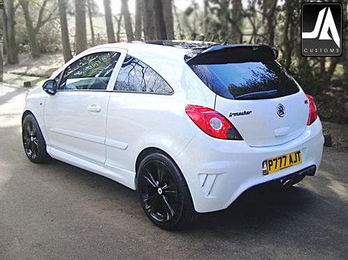 Vauxhall Corsa D to VXR | Roof Spoiler Body Kit