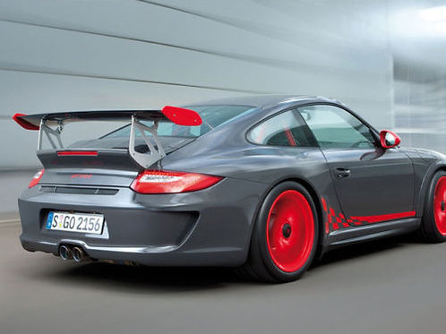 GT3 Style Tailgate Rear Spoiler Conversion for 911